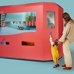 Facial Recognition Pizza Vending Machine (That's good news)